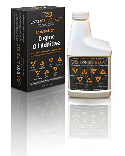 Everglide EGC Conventional Nano-based Engine Oil Treatment. MPG Booster.