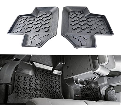 jeep wrangler floor mats 2 door - 7