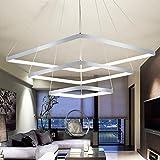 RainierLight Modern Fashional Led Square Chandeliers Lights for Indoor Art Decoration