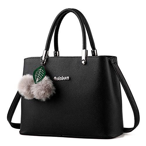 Bandolera Killer Mujer Bag Oscuro De Primavera Verano Negro Simple Grande Y Bolso Tote Saoga Para Rosa 4fagR