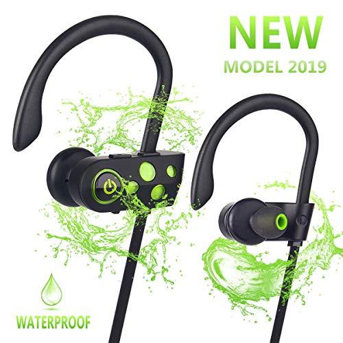 e2829d7421a Bluetooth Headphones w/12-14 Hours Battery - Best Wireless Sport Earphones w /