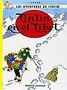 C- Tintín en el Tíbet par HERGE-TINTIN CARTONE IV