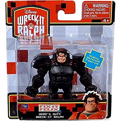"Wreck-It Ralph Action Figure - Hero Ralph 3"" Figure: Toys & Games"