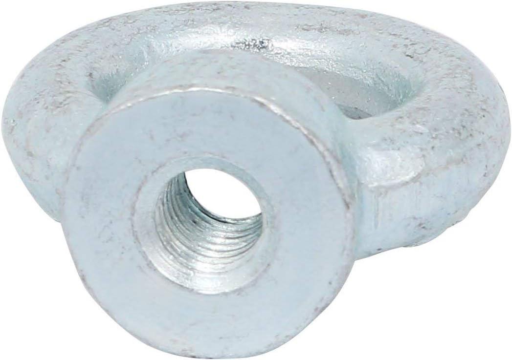 Filetage M10 acier carbone C15 DIN582 Zingu/é Anneau levage /écrou /à oeil 10pcs