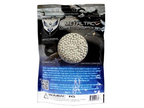 MetalTac Airsoft BBs Bag of 3,000 0.3g 6mm BBs Pellet Sniper Round for Airsoft Gun