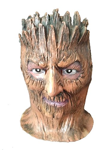 Dryad Halloween Costume (Generic Groot Dryad Latex Mask Ideal for Halloween Parties)