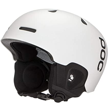 POC Auric Cut Communication Casco Nieve, Unisex Adulto, Blanco (Matt White),