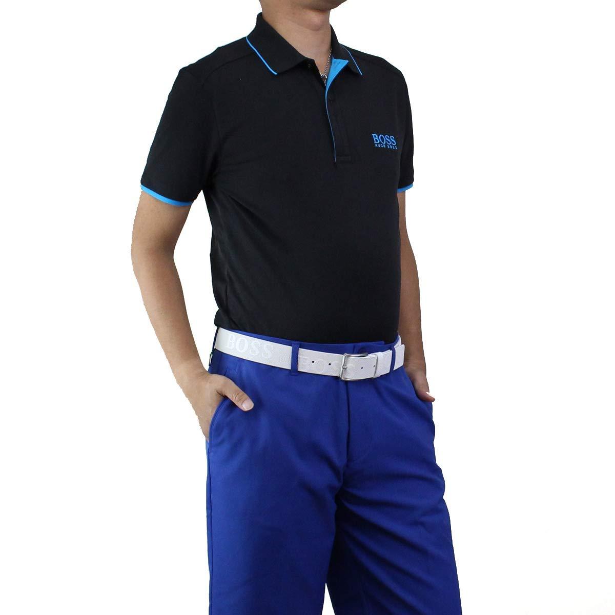 ヒューゴ ボス HUGO BOSS PAULE PRO 1 ポール プロ1 ポロシャツ 半袖 ゴルフウェア 50403533 10214421 001-JM ブラック サイズ:#L [並行輸入品]   B07SZ42XWL