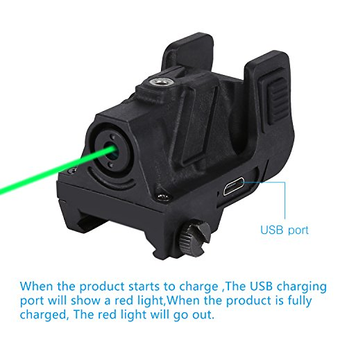 QR-Laser 03G(TM) Subcompact Green Dot Laser Sight with 20mm Rail Picatinny for Pistol,Handgun,etc. -