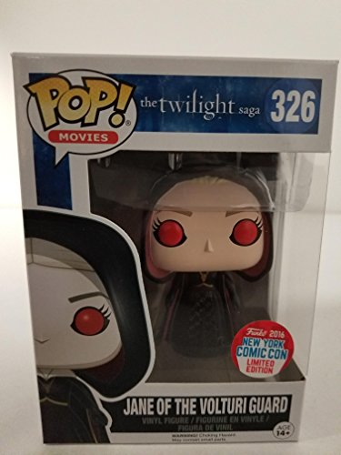 Figura Pop! Vinyl Twilight Jane of The Volturi Guard Limited