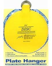 Flatirons Disc Adhesive Extra Large Plate Hanger Set (4 - 5.5 Inch Hangers)