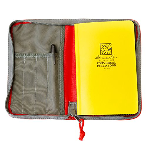 Fidelis Co Field Notebook Red With Rite In The Rain