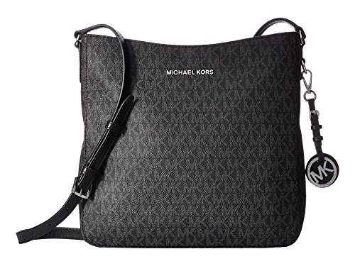 MICHAEL Michael Kors Jet Set Travel Large Messenger Black One Size (Brillen Von Michael Kors)