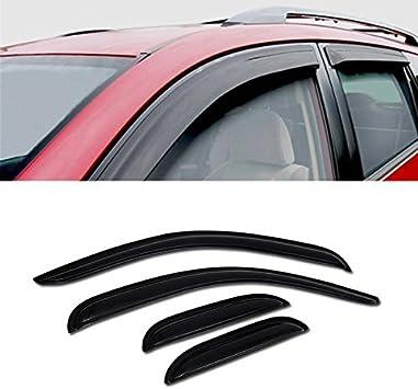 For 2007-2013 Silverado//Sierra Ext Mu-Style Rain Guard Smoke Vent Window Visors