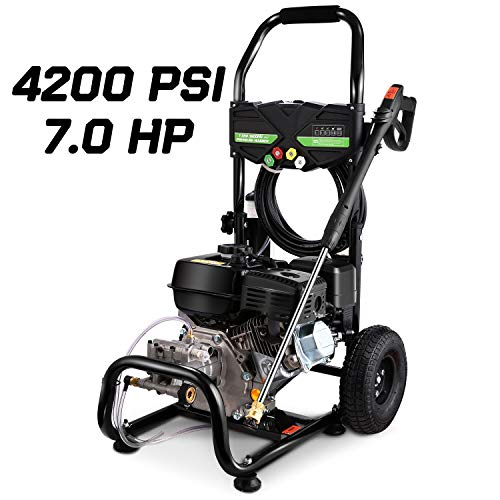 TEANDE Gas Pressure Washer 212CC Gas Powered Power Washer for