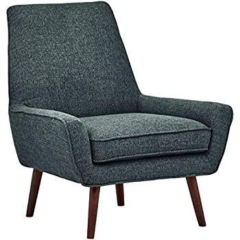 Amazon Com Rivet Stacey Mid Century Modern Round Backed