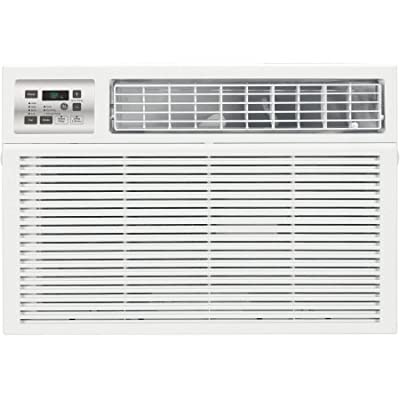 GE 18,000 BTU Window Room Air Conditioner, Electronic Control with Remote, Cool White