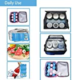 SRHOME 2 Pack Cool Coolers Ice Packs for Lunch