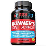 Runner's Joint Support – Relieves Knee Pain & Protects Joints – Joint Supplements – Glucosamine Chondroitin MSM – 1 1/2 Month Supply! For Sale