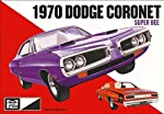 MPC 869 1970 Dodge Coronet Super Bee 1:25 Scale Plastic Model Kit - Requires Assembly from Mpc