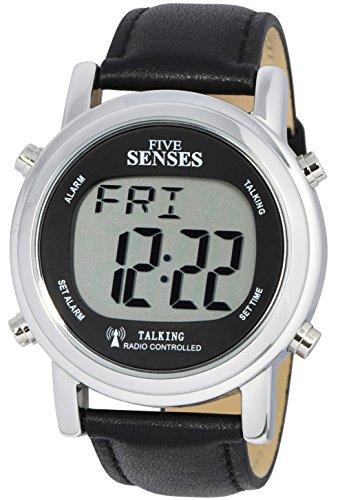 ATOMIC! Talking watch - Sets Itself SENSES Metal Easy-To-Read Talking Watch (SRTKD1-1)
