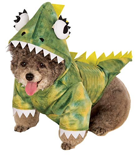 Rubie's Pet Costume, X-Large, Green Dinosaur Hoodie ()