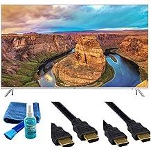 UN55KS8500 Curved 55-Inch 4K Ultra HD Smart LED TV (2016 Model) - Starter Bundle
