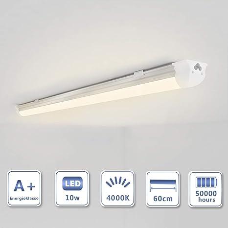 Illuminazione Neon Per Ufficio.Oubo T8 Neon Led Lampada Bianco Naturale 4000k 60cm 10w 1300lm
