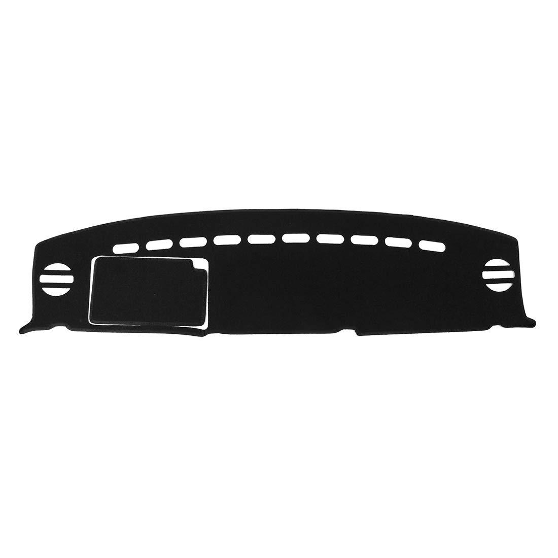 X AUTOHAUX Car Dashboard Cover Nonslip Black Dash Mat Sun Pad for Toyota FJ Cruiser