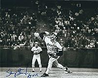 Autographed Sammy Stewart 8x10 Baltimore Orioles Photo