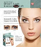 64 Dream Look Instant Eye Lift Strips & Gel. Magic Upper Eye Easy Lift Strips. Non Surgical Eyelids lift