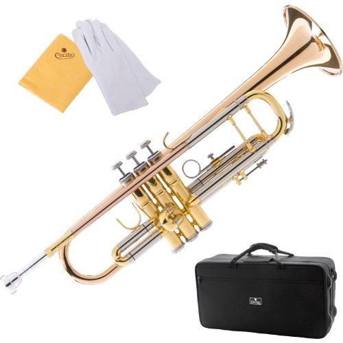 Cecilio Gold Brass Intermediate Double Braced Trumpet - TT-380GB