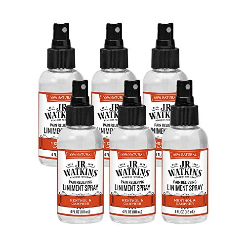 J.R. Watkins Pain Relieving Liniment Spray, 6 Count