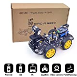 XiaoR Geek DS WiFi Smart Robot Car Kit for Arduino UNO R3,Remote Control HD Camera FPV Robotics Learning & Educational Electronic Toy