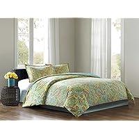 Echo Beacon's Paisley Comforter Set (Full, Multi)