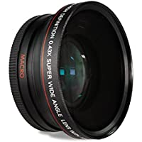 55MM WIDE FOR NIKON AF-P DX LENS  0.43x Wide Angle Conversion Lens with Macro Close-Up Attachment for Nikon AF-P DX NIKKOR 18-55mm f/3.5-5.6G, VR with Nikon D5500 D3300 Digital SLR Camera
