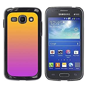 """Pulsar Snap-on Series Teléfono Carcasa Funda Case Caso para Samsung Galaxy Ace 3 , Degradados de color Naranja Rosa Púrpura"""""""