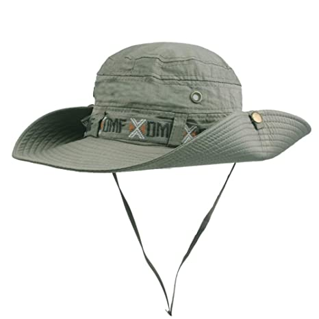 16b976144e298 BIGBOBA Sombrero de Pescador Anti-UV Ajustable Sombrero Redondo Sombrero de  montaña Acampar al Aire