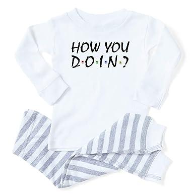 40a9a99cae2a0 Amazon.com: CafePress Friends TV Show Baby Pajamas: Clothing