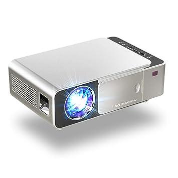 Proyector LED HD 3500 lúmenes Portátil HDMI USB Soporte 4K 1080P ...