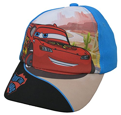 Disney Pixar Lightning McQueen Cars Boys Baseball Cap - Toddler [6014]