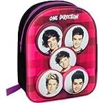 1D One Direction 3D Backpack School Bag