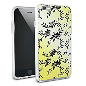 Power of Flowers Yellow Protective Slim Hybrid Rubber Bumper Case for Apple iPhone 6 6s Plus