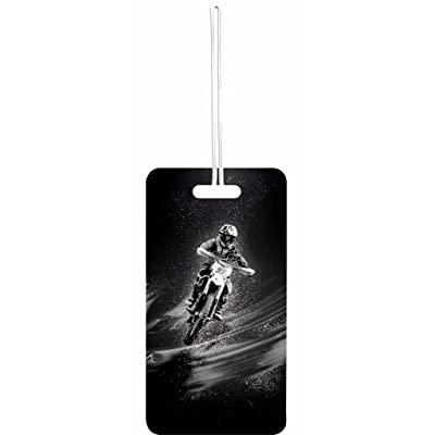 Motorcycle Rosie Parker Inc. Double-Sided Luggage Tag