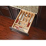 Rev-A-Shelf - 4WCT-1SH - 2-3/8 in. Small Wood Cutlery Drawer Insert