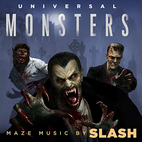 Universal Monsters Maze Soundtrack/Halloween Horror Nights -