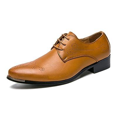 Schnürschuh Oxford Shopping Brogue Classic Herren Go Business Easy mPNwy0Ov8n