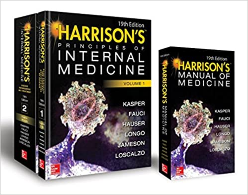 Harrisons principles of internal medicine 19th edition and harrisons principles of internal medicine 19th edition and harrisons manual of medicine 19th edition val pak 9781260128857 medicine health science fandeluxe Gallery