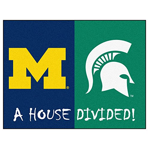 FANMATS NCAA House Divided Nylon Face House Divided