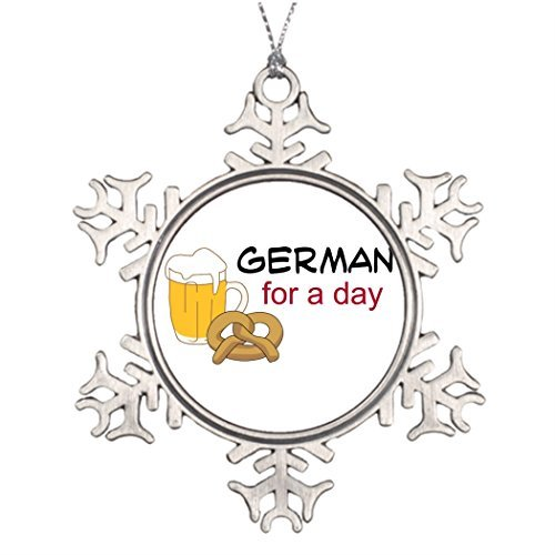 Metal Ornaments Brew Food Ideas For Decorating Christmas Trees Family Personalized Snowflake Ornaments